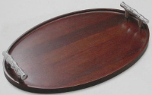 Atticus - Bamboo Oval Serving Tray