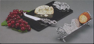Arthur Court Grape and Cheese Set