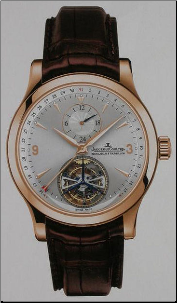 7 Jaeger-LeCoultre - Master Tourbillon Watch